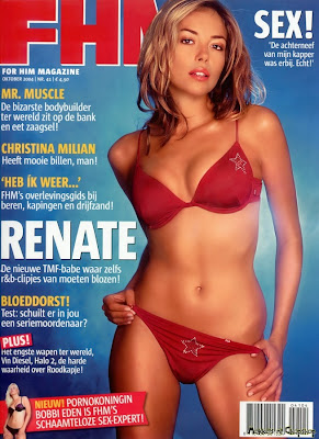 Renate Verbaan FHM Photo Shoot