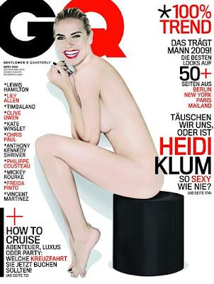 Heidi Klum GQ Magazine Scans