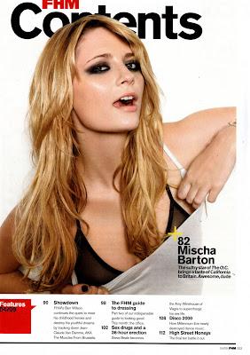 Mischa Barton FHM Scans