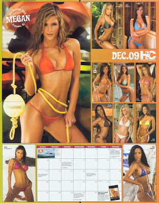 Hooters 2009 Calender Photos