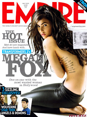Megan Fox Empire UK Scans May 2009