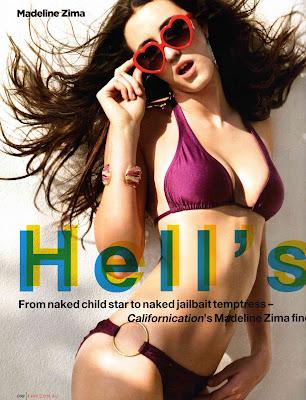 Madeline Zima FHM Australia