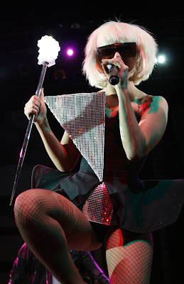 Lady Gaga Performs at House Of Blues