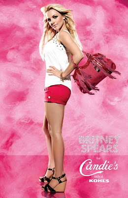 Britney Spears Candies Ad Photo Shoot