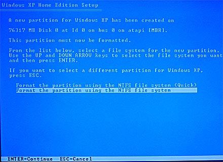 Formatando PC 7