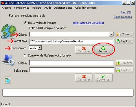 aTube Catcher: Salvando Vídeos Em Todos Os Formatos 2