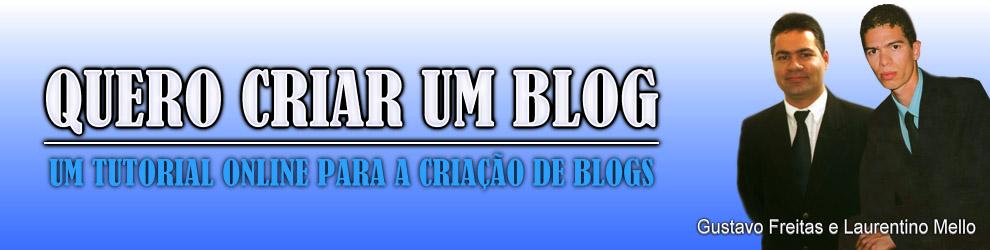 Quero Criar um Blog