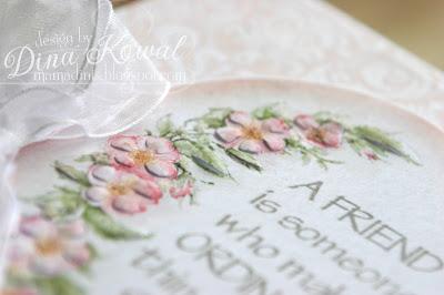 Dina Kowal Creative Flower Soft Sprinkle Challenge Spring