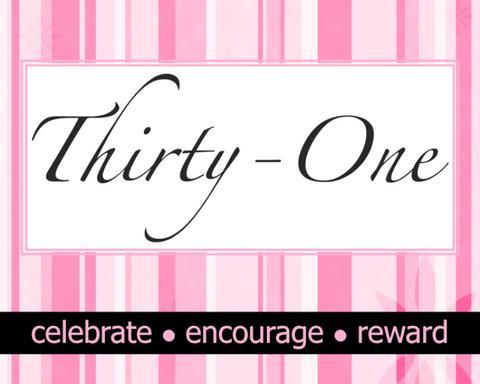 Thirty One Gifts was created a few years ago with the scripture Proverbs 31 in mind. Founder, Cindy Monroe says that the message behind Thirty One is to ...