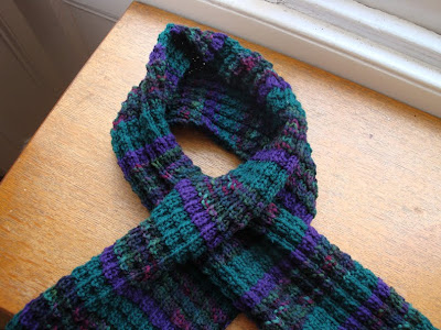 Crochet Keyhole Scarf (Quick  Easy) - I Knit and Crochet