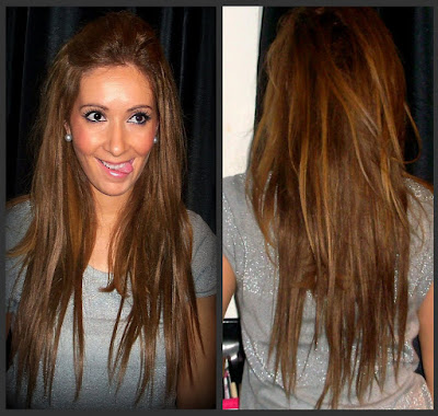 Trendy with style p my hair extensions finally i bought me clip hair extensions and i love them the shade match perfectly with my colour hair and i couldnt believe it because my hair is not a pmusecretfo Gallery
