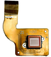 CCD Sensor used inside a consumer-digicam.