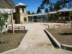 Plaza de Armas de Tupe antes del Sismo