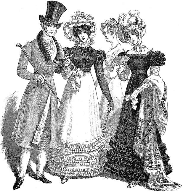 Гардероб леди 19 века – часть вторая / платье старинное