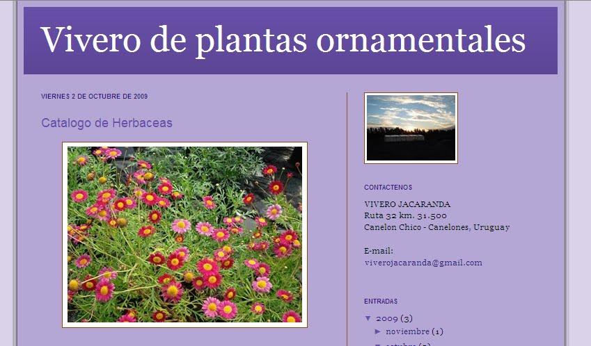 Gu a web de las piedras uruguay vivero jacarand for Viveros en uruguay