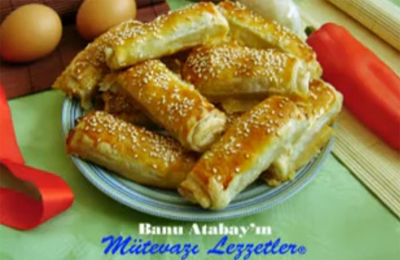 Sucuklu Milföy Böreği - Videolu Tarifi