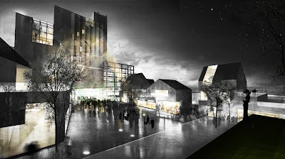 DEVE Architects In Copenhagen Denmark Have Been Awarded One Of The Europan 10 Architecture Competition Prizes For A Project To Revitalize An Industrial