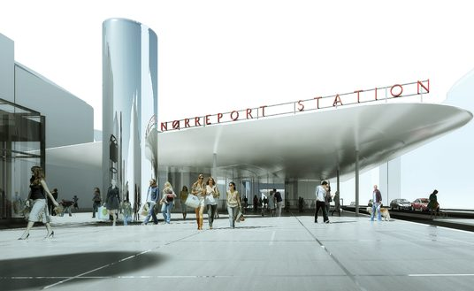Architecture Overview: Nørreport Station