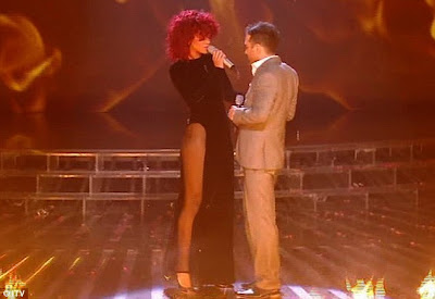 rihanna and matt x factor
