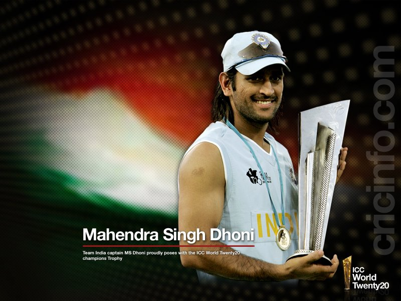 ms dhoni wallpapers. Cricketer M.S Dhoni wallpapers