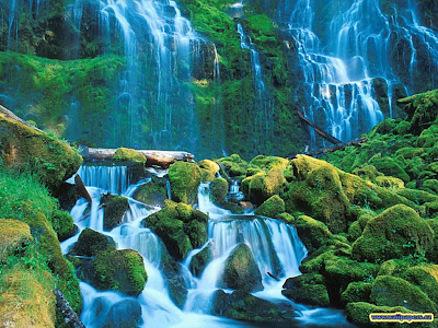 3d waterfall wallpaper. 3D Wallpapers