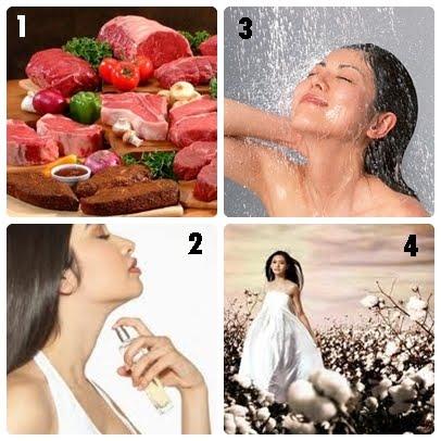 Cara menguatkan badan, mengelak rabun
