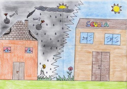 Il disegno come terapia nei bambini for Disegni semplici della casa del bungalow