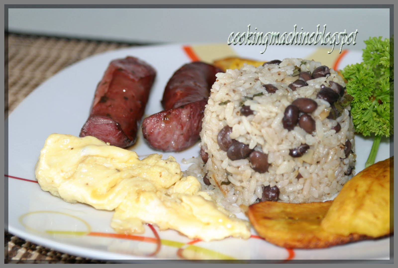 and rice rice and beans cheese gallopinto nicaraguan rice and rice and ...