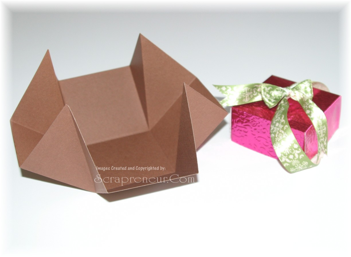 12 Days Of Handmade Christmas Gifts U2013 Day 6 (Multipurpose Gift Box)  Homemade Gift Boxes Templates