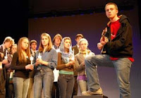 The cast of THE LARAMIE PROJECT
