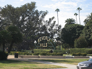 Beverly Hills...swimming pools...movie stars...