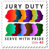 Like the Colors of a Rainbow. Celebrate Jury Duty.