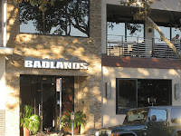 Badlands in Sacramento was much nicer than the Badlands in San Francisco.