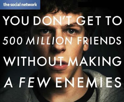 Award winning movie Social Network
