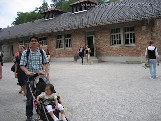the crematorium, the most sacred area of dachau
