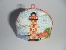copriteiera il faro - lighthouse tea cozy