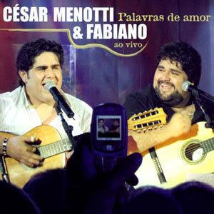 CD – Cesar Menotti e Fabiano Palavras de Amor