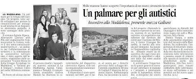 alpaca La Nuova Sardegna 30 dicembre 2009