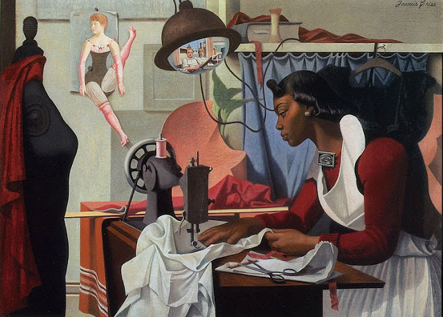 Source: Francis Criss - Alma sewing, ca 1935 High museum of art, Atlanta http://www.high.org/