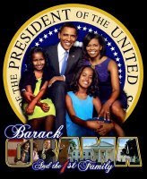 <b>The 44th President & 1st Family</b>