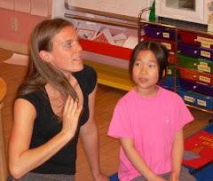 Lisa and student