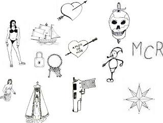 significados de algumas tatuagens pela bandidagem   papo