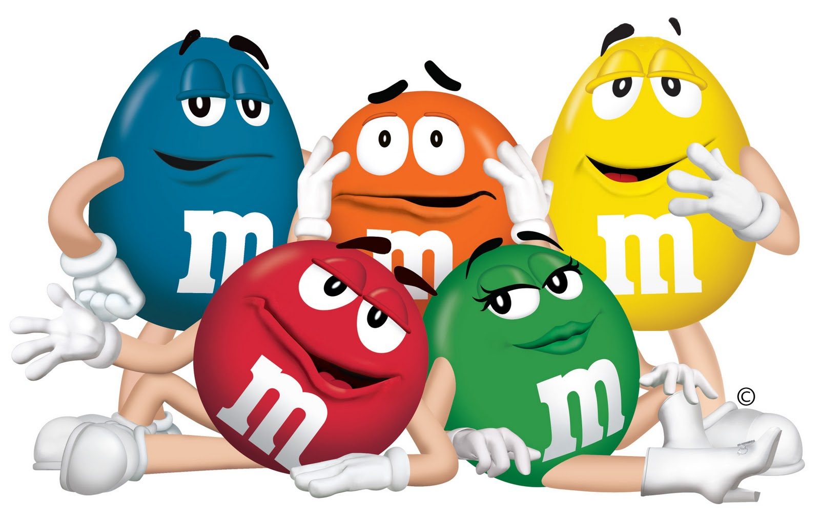 M and m brownies