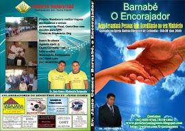 """Adquira o DVD """"BARNABÉ O ENCORAJADOR"""" e nos ajude a semear a PALAVRA DE DEUS!"""