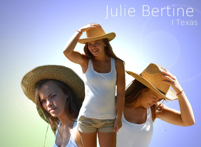 Et lite stykke Julie, i et stort stykke Texas