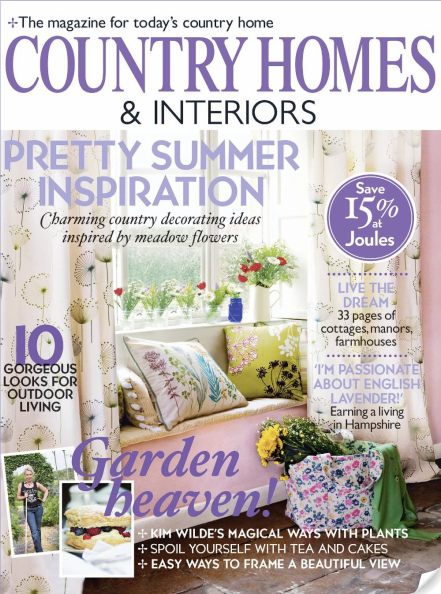 Magazine review country homes and interiors june 2010 for Home and interiors magazine