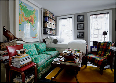 At A Tiny 178 Square Feet, Zach Has Made Use Of Every Inch Of Space In His  Eclectic Studio Apartment In Brooklyn.