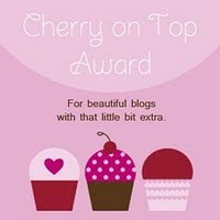 My first blog award - thanks, Bella!