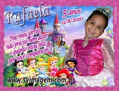 Baby Princesas Disney Arte E Foto Montagem Com Frase Personalizada