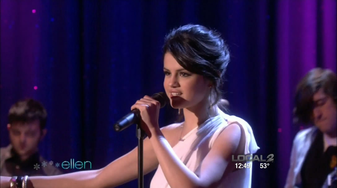 selena gomez ellen show. Selena Gomez - Naturally [The